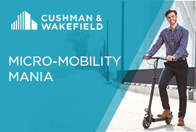 Micro-mobility impact and opportunities by CRE sector in USA